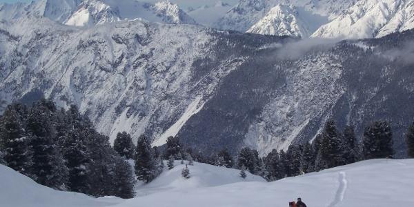 Schneeschuhwandern Feldringalm