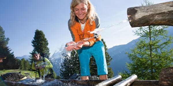 Brunnen bei Armelenhütte