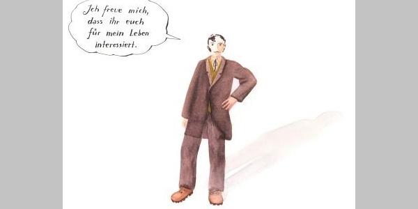 Franz Michael Felder - Illustration Monika Hehle