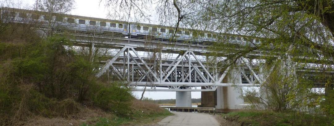 Zugverbindung Stettin - Danzig unterqueren