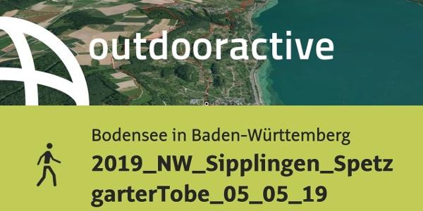 Wanderung am Bodensee in Baden-Württemberg: 2019_NW_Sipplingen_SpetzgarterTobel_05_05_19