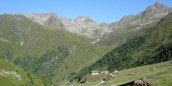 Zwieselbachtal - Schweinfurter Hütte