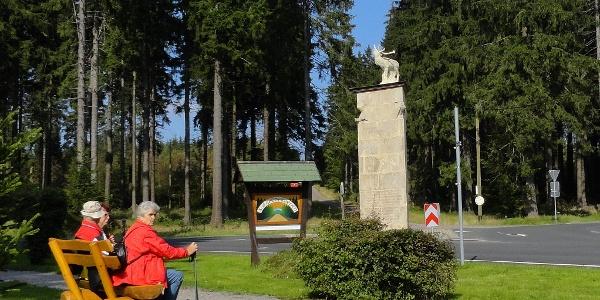 Frauenwald - Hirsch