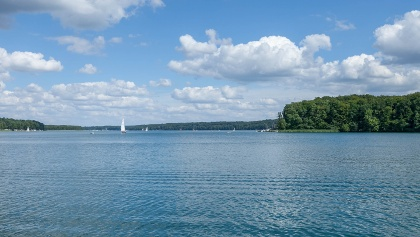 Segelboote auf dem Werbellinsee