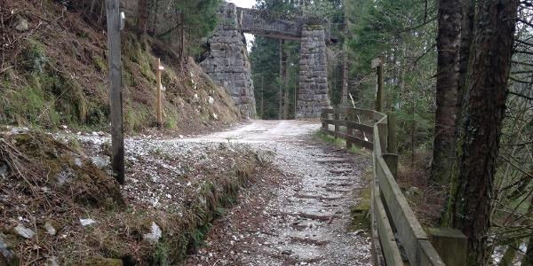 itinerario lungo il torrente Grigno