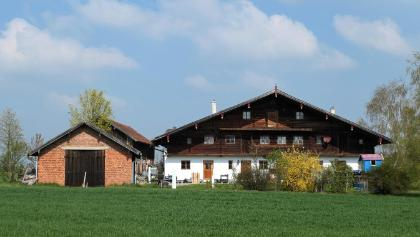Traditionelles Rottaler Stockhaus auf dem Griesberg