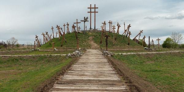 A Muhi csata emlékműve