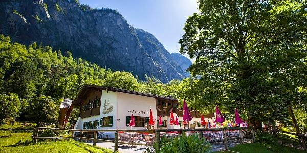 Die Priesbergalm im Nationalpark Berchtesgaden