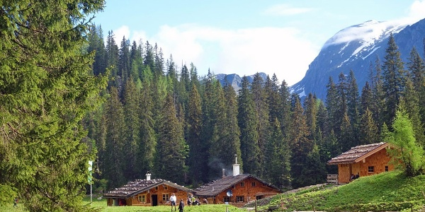 <![CDATA[Die renovierte Wasseralm im Nationalpark Berchtesgaden]]>