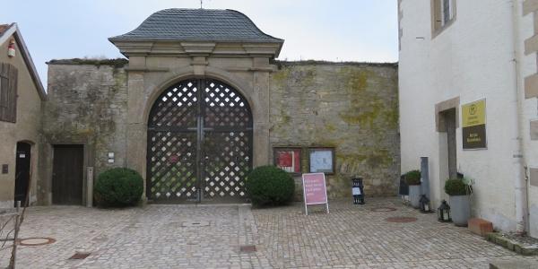 Eingang Kloster Dalheim