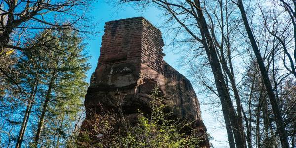 medieval castle ruins Blumenstein