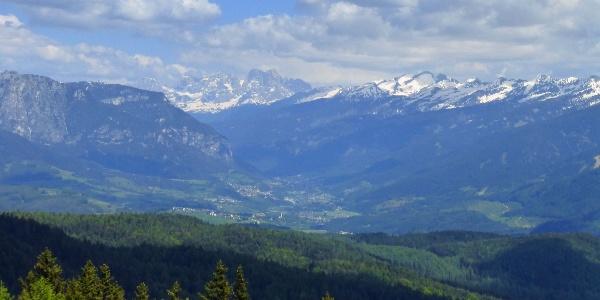 Panorama aus Trudner Horn Alm