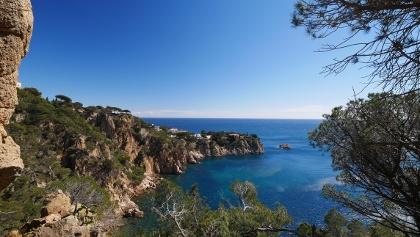 Blick auf die faszinierende Costa Brava