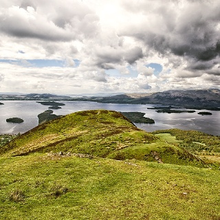View from Conic Hill