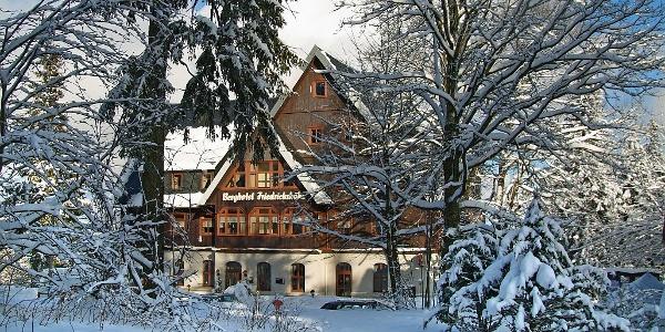 Berghotel Friedrichshöhe im Winter