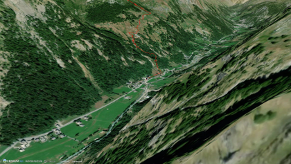 טיול רגלי בטבע במעבר סן ברנאר הגדול: AV1 AOSTA