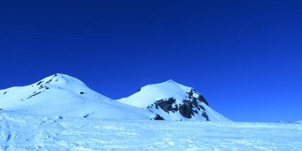 Heimspitze im Hintergrund
