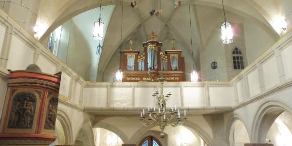 St.-Annenkirche Ruppertsgrün - Orgel