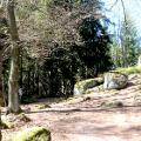 Der Weg bei der Hohen Matze oberhalb von Wurmloh