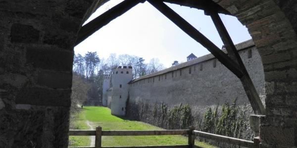 Reste der Basler Stadtbefestigung bei St. Alban