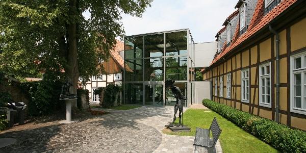 Malerischer Kunsthausgarten