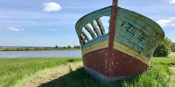 Frossay, Pays De La Loire, France, 30. April 2019