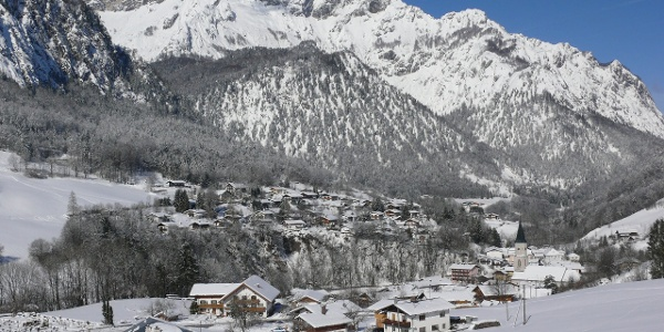 Winter in Marktschellenberg