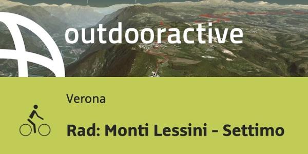 Radtour in Verona: Rad: Monti Lessini - Settimo