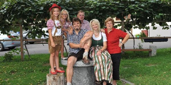 Familie Schneider, herzlichst Willkommen