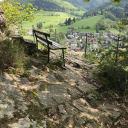 Schöner Aussichtspunkt auf Münstertal