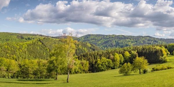 Panorama bei Schwarzburg