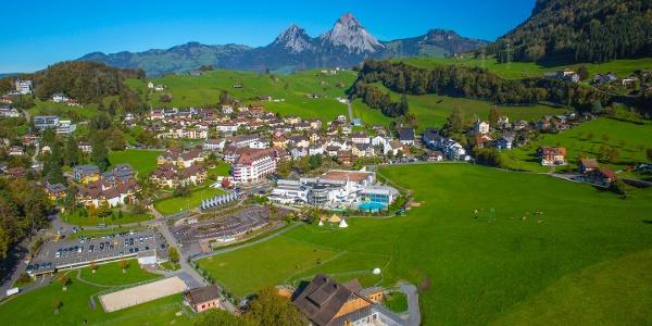 Luftaufnahme von Morschach