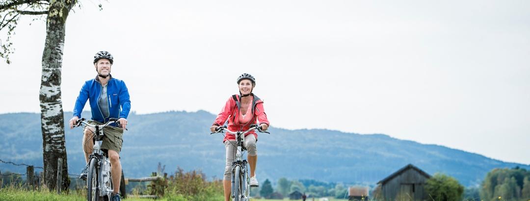 Fahrradtour von Lenggries über Sachsenkam zum Kloster Reutberg und zurück