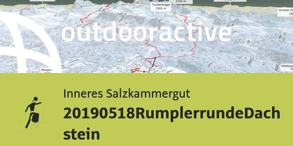 Skitour im Inneren Salzkammergut: 20190518RumplerrundeDachstein
