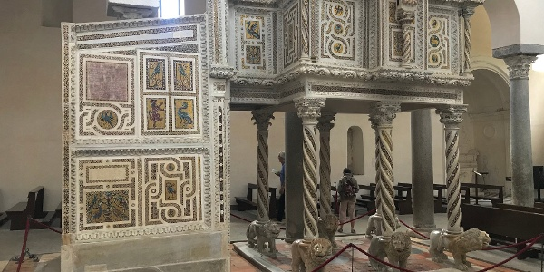 Marble Pulpit in Ravello Cathedral