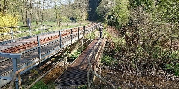Brücke über die Sebnitz