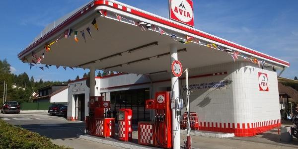Retro-Tankstelle Kniebis