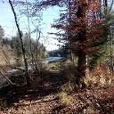 Single-Trail entlang der Emme