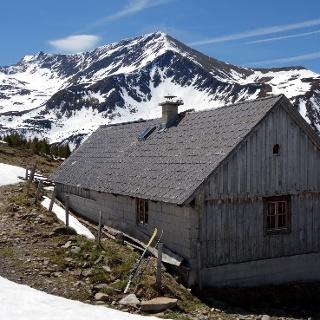 Mahdfeldhütte 1718m