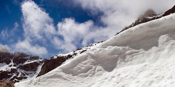 noch genug Schnee!