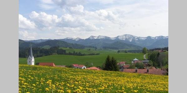 Ortsbild Stiefenhofen