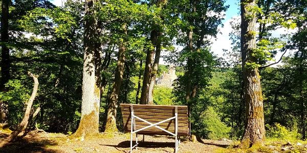Ehrenburgblick 2 am Saar-Hunsrück-Steig