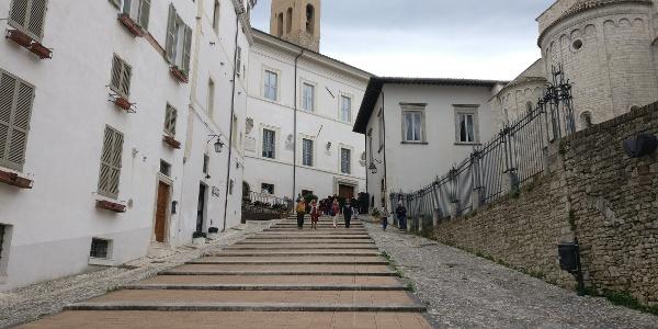 Spoleto - Piazza del Duomo