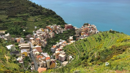 View to Manarola