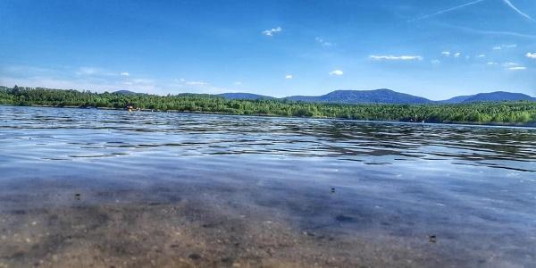 Olbersdorfer See - Hintergrund Naturpark Zittauer Gebirge - Autor Dasa Hrehova