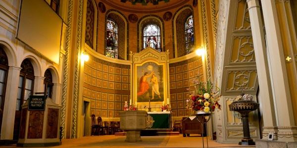 Laurentiuskirche Elsterberg - Blick zum Altarraum