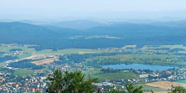 View on Kočevje