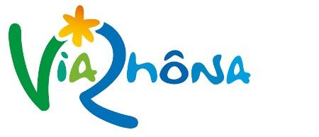 Logo ViaRhôna - Mit dem Rad entlang der Rhone