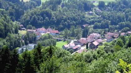Brücke über den Doubs bei Goumois