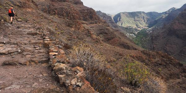 Valle Gran Rey: Camino la Mérica